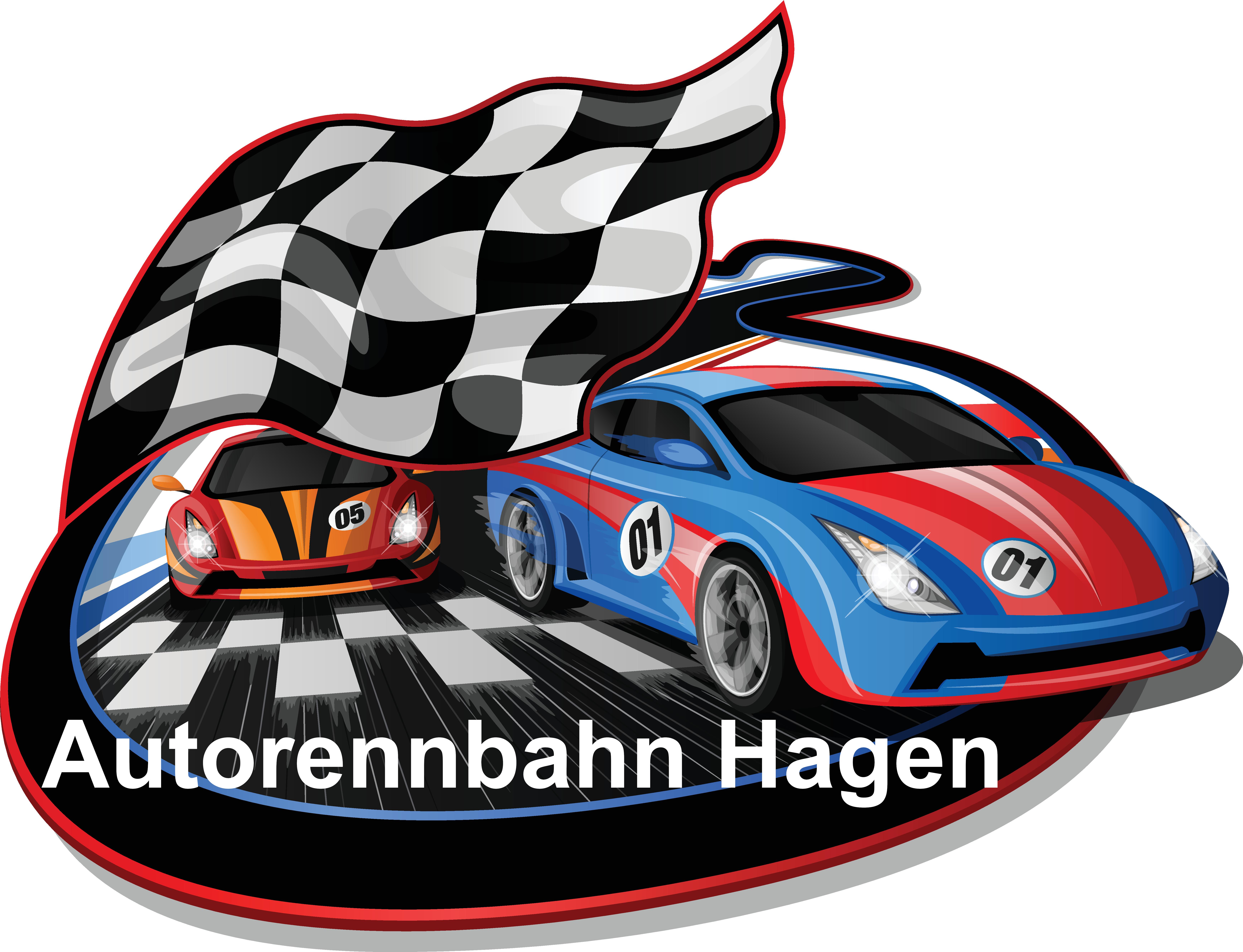 Autorennbahn Hagen-Logo