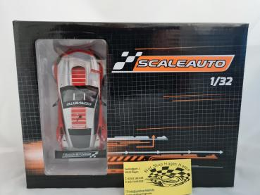C7 R Cup 21017 silber/ rot  Scaleauto SC6179B
